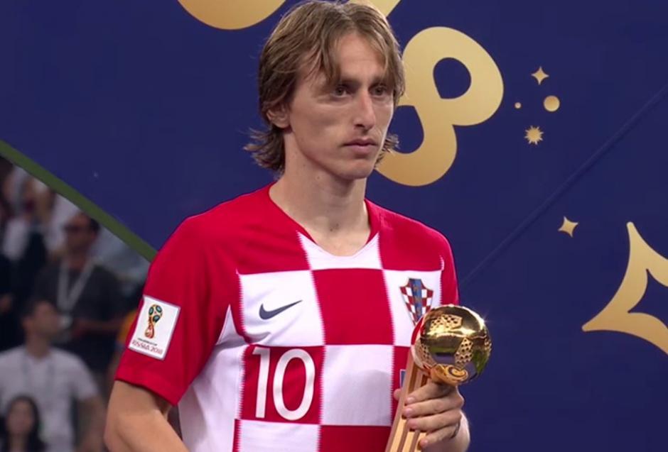 Luka Modric el Balón de oro del Mundial Rusia 2018