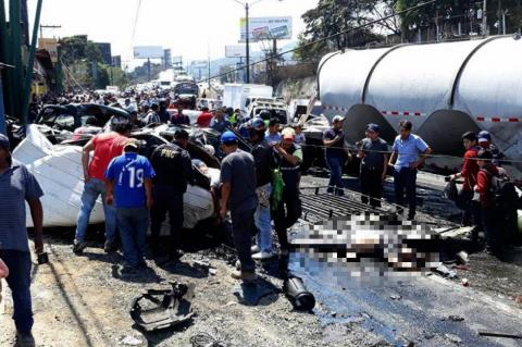 Reportan seis fallecidos en accidente de ruta Interamericana