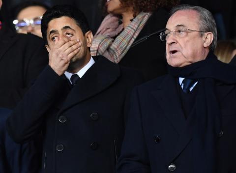 Así reaccionó el dueño del PSG tras la debacle ante el Real Madrid