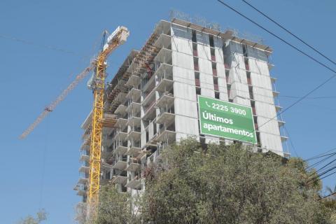 Construyen 60 nuevos edificios de apartamentos para vivir en la ciudad
