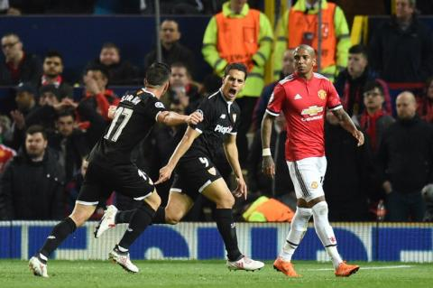 Pesadilla en Old Trafford: el Sevilla elimina al Manchester United