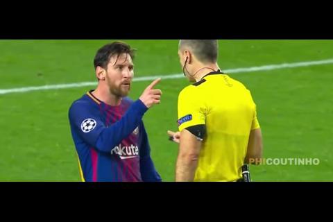Esto le dijo Messi al árbitro durante el partido contra el Chelsea
