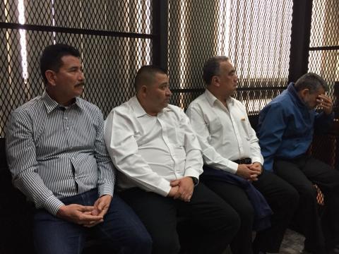 Dos exdiputados van juicio por financiamiento electoral ilícito