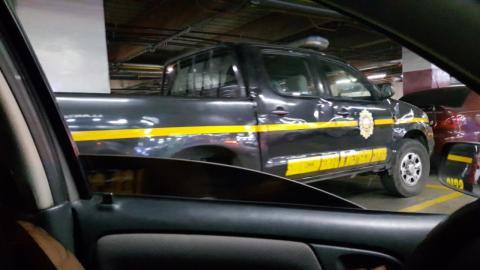 Localizan vehículo que habría sido usado en atraco a centro comercial