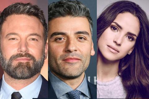Ben Affleck, Oscar Isaac y Adria Arjona, juntos en película de Netflix