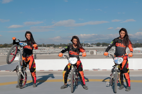 Marisa Méndez, la bella y talentosa reina del BMX en Guatemala