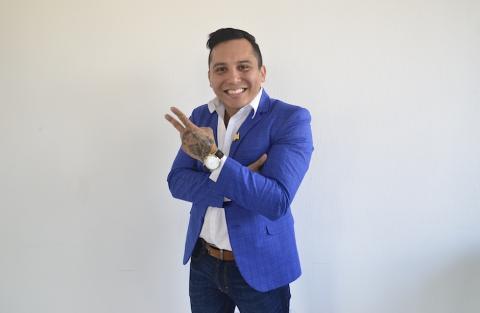 Edwin Luna habla de la llegada de su hija de ascendencia guatemalteca