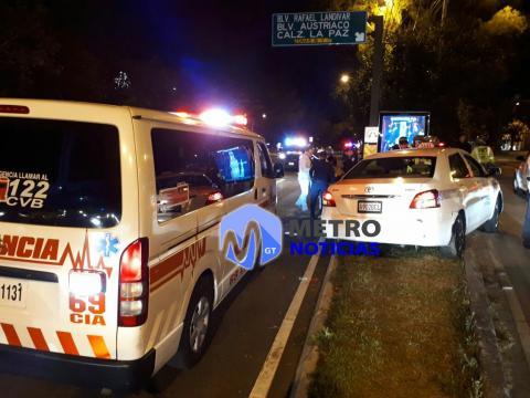 Taxista muere en ataque armado y dos pasajeros resultan heridos
