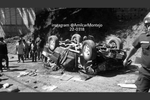 Identifican a las víctimas del trágico accidente de la zona 16