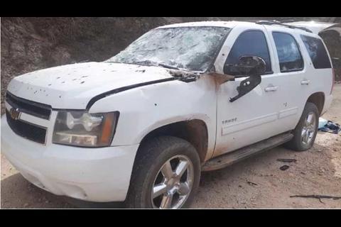 Ejército mexicano dispara desde helicóptero contra convoy de narcos