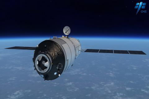¿La estación espacial china podría caer en Guatemala?