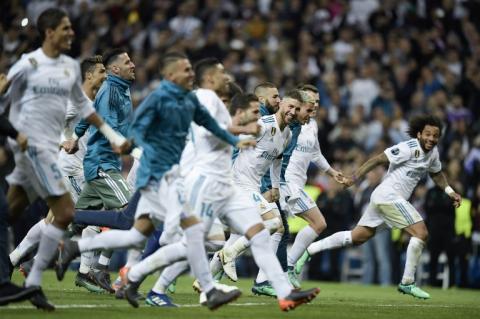 La polémica celebración contra el Barça del portero del Real Madrid