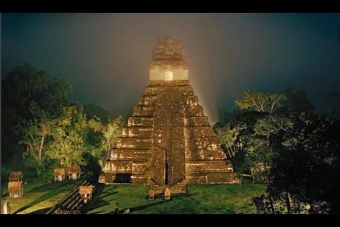 Impresionante fotografía de Tikal enamora a National Geographic