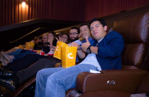 "Así se vive ""Deadpool 2"" en sillones de lujo"
