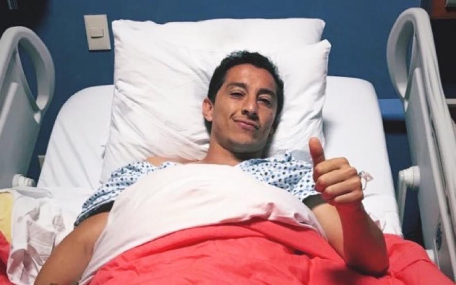 Operan a Andrés Guardado y todavía es duda para el Mundial
