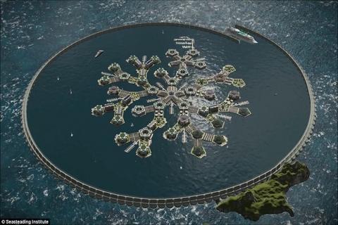 La alucinante nación flotante que será realidad en 2022