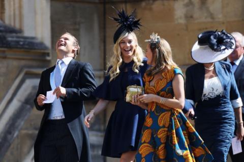 Boda real: dos exnovias del príncipe Harry entre las invitadas