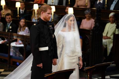 Este es el vestido de Meghan Markle para la boda real