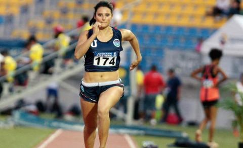 Atleta jalapaneca establece nuevo récord nacional en salto triple