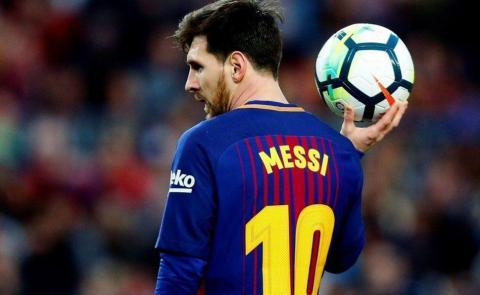 La tierna foto de Messi en un partido de fútbol de Thiago