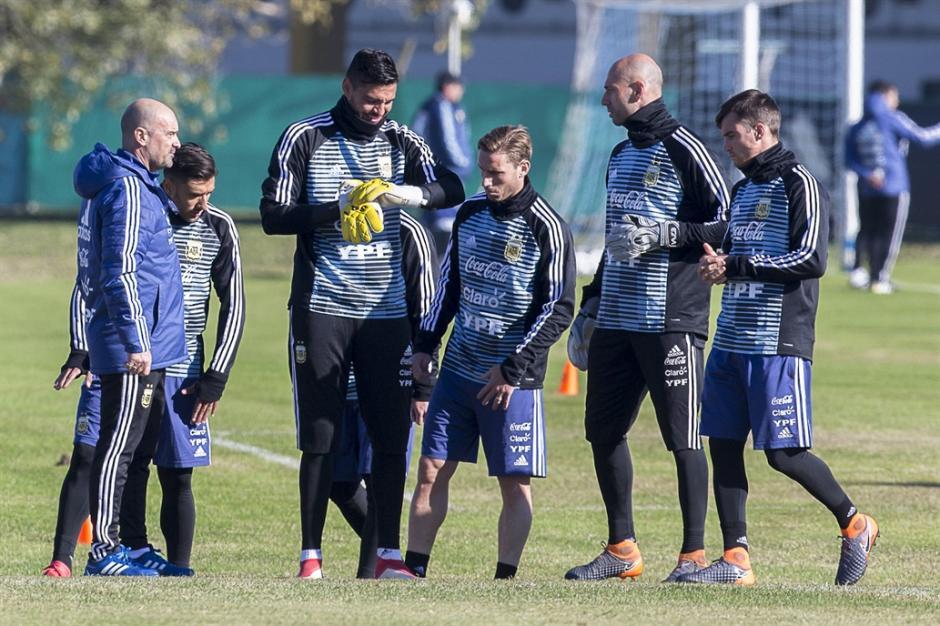 Argentina pierde por lesión a su portero titular para Rusia 2018