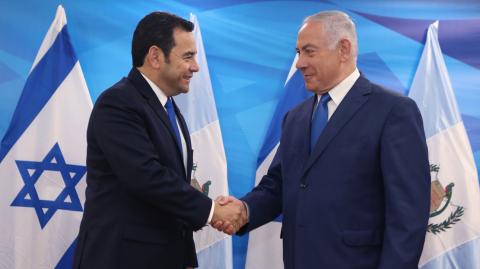 ¿Será Jerusalén la tierra prometida para Jimmy Morales?