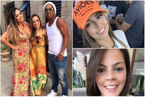 ¿Ronaldinho se casará con dos mujeres al mismo tiempo?