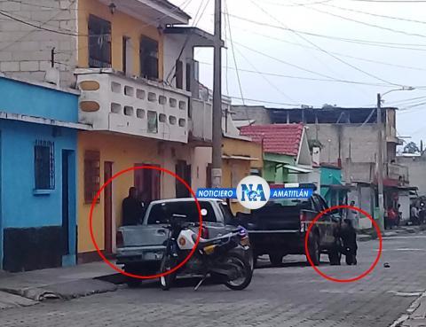 Dos muertos y cuatro heridos en balacera en una colonia de Amatitlán