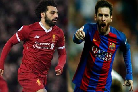 """Ronaldo Nazário elogia a Salah: """"Se parece a Leo Messi"""""""