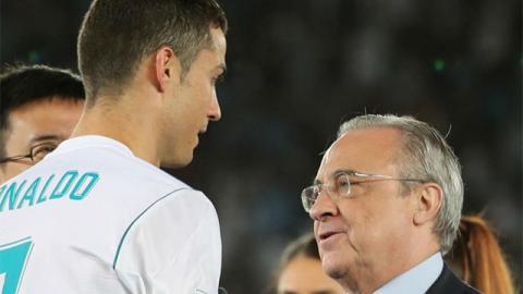 """Florentino Pérez responde a Cristiano Ronaldo tras """"despedirse"""""""