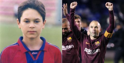 Iniesta explica por qué de niño le iba al Real Madrid y no al Barça