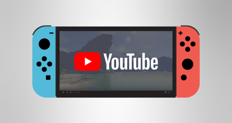YouTube llega al Nintendo Switch y posiblemente Netflix
