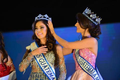Keila Rodas es coronada como Miss Mundo Guatemala