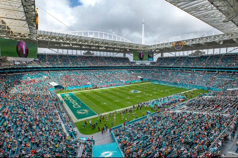 Así es el Hard Rock Stadium, sede del Superbowl LIV