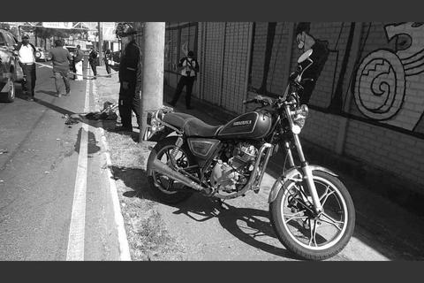 Accidente Periférico: Capturan a motorista por muerte de su hija