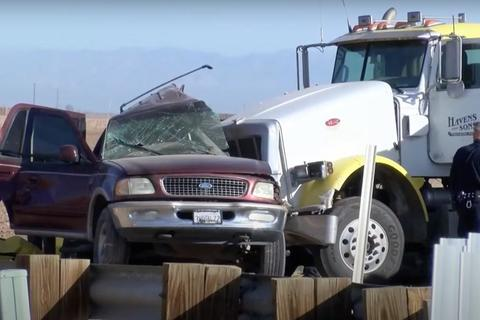 Accidente en California: cinco guatemaltecos entre las víctimas