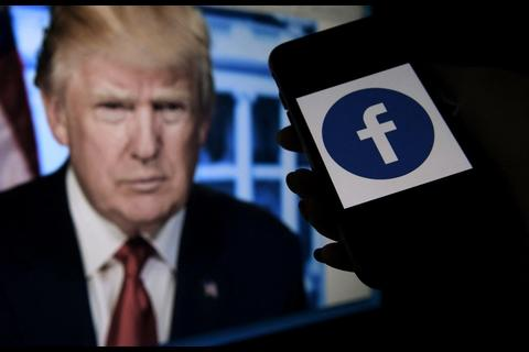 Facebook mantiene veto a Donald Trump de la red social