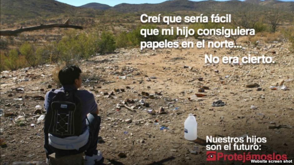 Crean campaña en español para alertar sobre riesgo de cruzar frontera