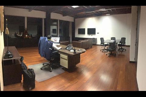 Así es el despacho de Neto Bran como Alcalde de Mixco