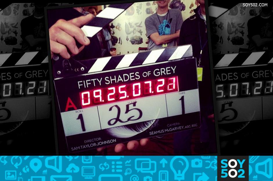 """Publican fotografías del esperado rodaje de """"50 sombras de Grey"""""""