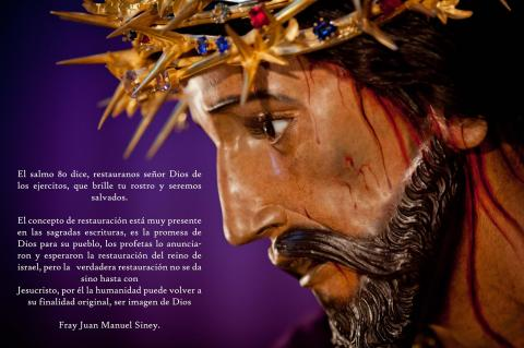 Jesús del Rescate y Virgen de Dolores de Santa Teresa son restaurados