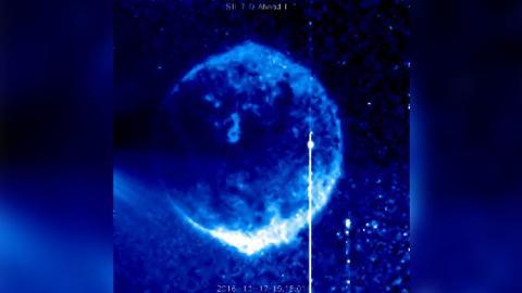 NASA logra captar un extraño objeto cerca del Sol