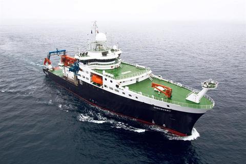"""El buque oceanográfico """"Discovery"""" empezará a operar a principios de 2014"""