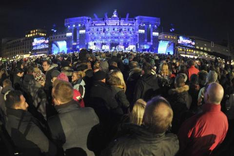 Los espectáculos más grandes de Año Nuevo