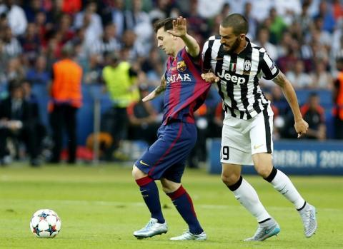 Con gol de Rakitic, Barcelona le gana a Juventus en el primer tiempo