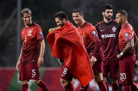 Cristiano Ronaldo y diez más quieren la Eurocopa para Portugal