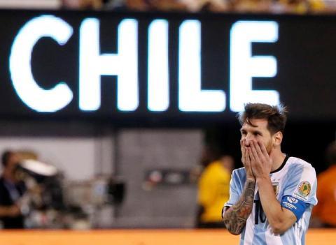 La primera foto de Leo Messi después de su renuncia a la selección
