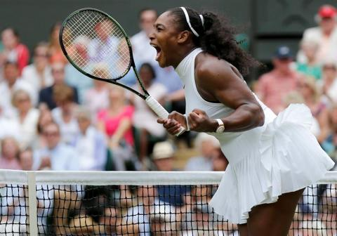 Serena Williams conquista Wimbledon y ya suma 22 Grand Slams