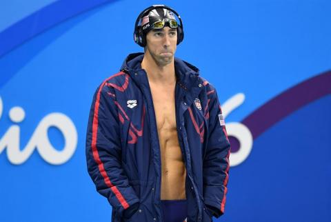 Con 28 medallas, Phelps coloca punto final a su carrera olímpica