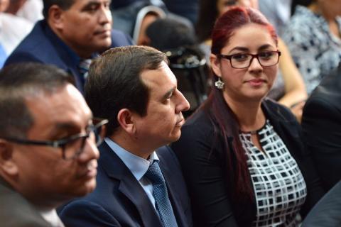 """Se entrega a la justicia Julio Aldana, """"el banquero"""" de Baldetti"""